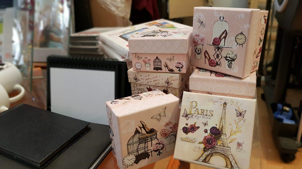 Immagine scatole portaoggetti